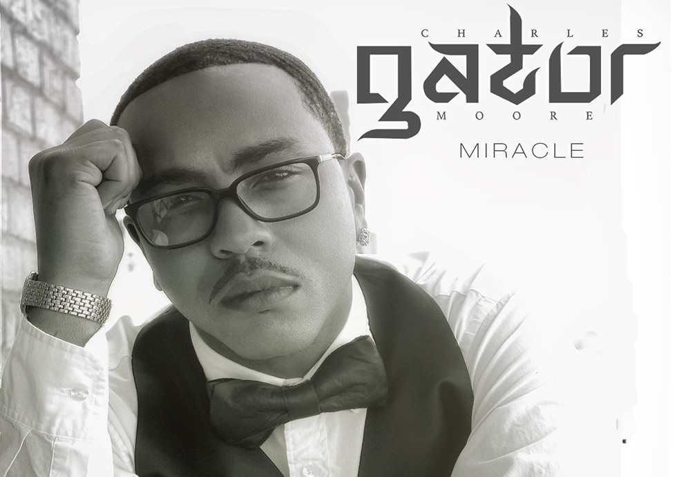 """Artwork from Charles """"Gator"""" Moore's solo single """"Miracle"""""""