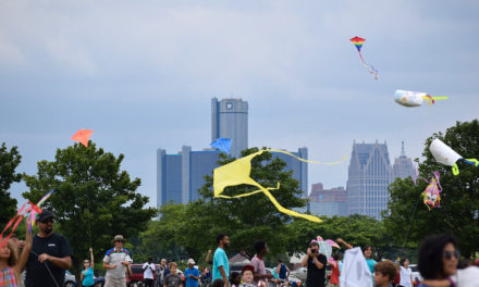 Food, Music, and Crafts Compose 2nd Annual Detroit Kite Festival