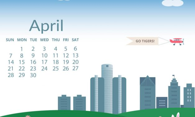 Welcome Spring with a Free Desktop Wallpaper for April 2019