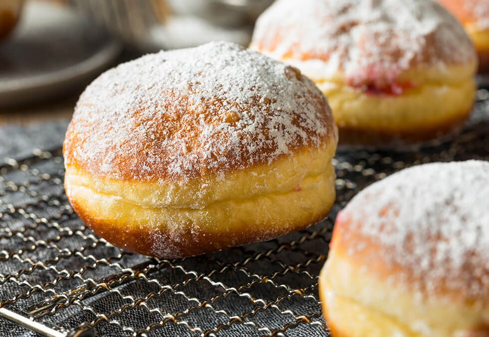 Try These 5 Unique Flavors offered on Paczki Day