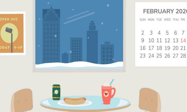 Freebie: February 2020 Desktop Wallpaper
