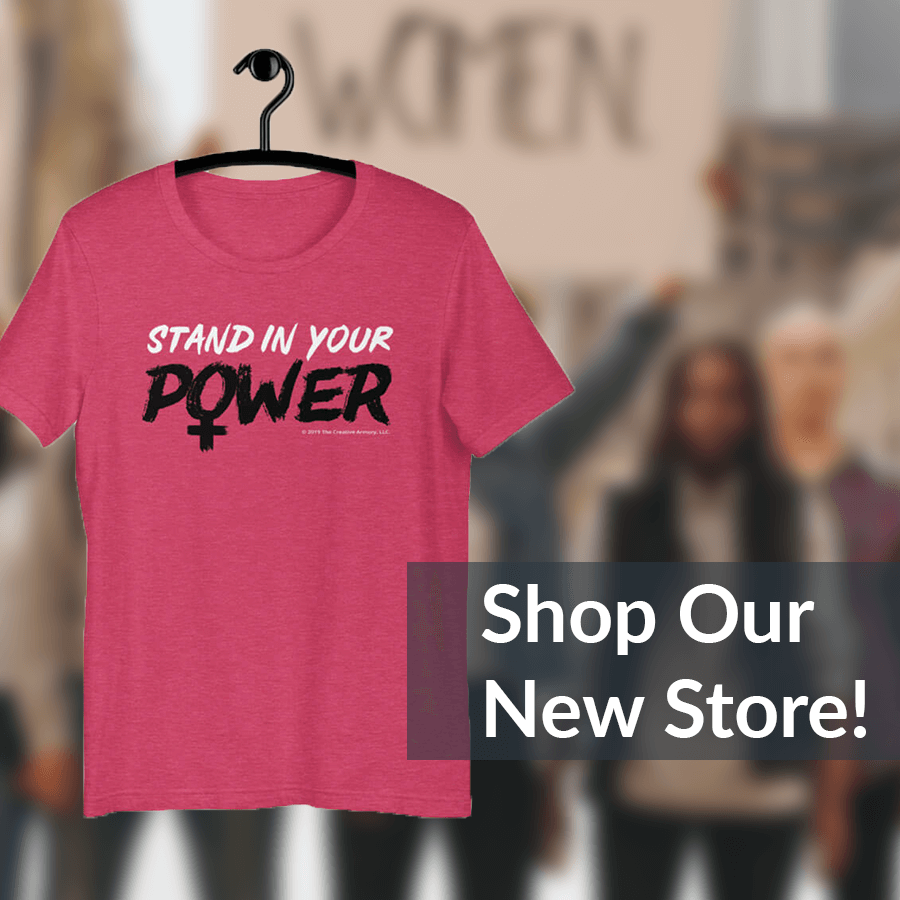 Stand in Your Power Tees
