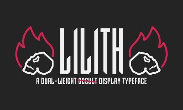Lilith Typeface Raises Funds to Support Local Charities
