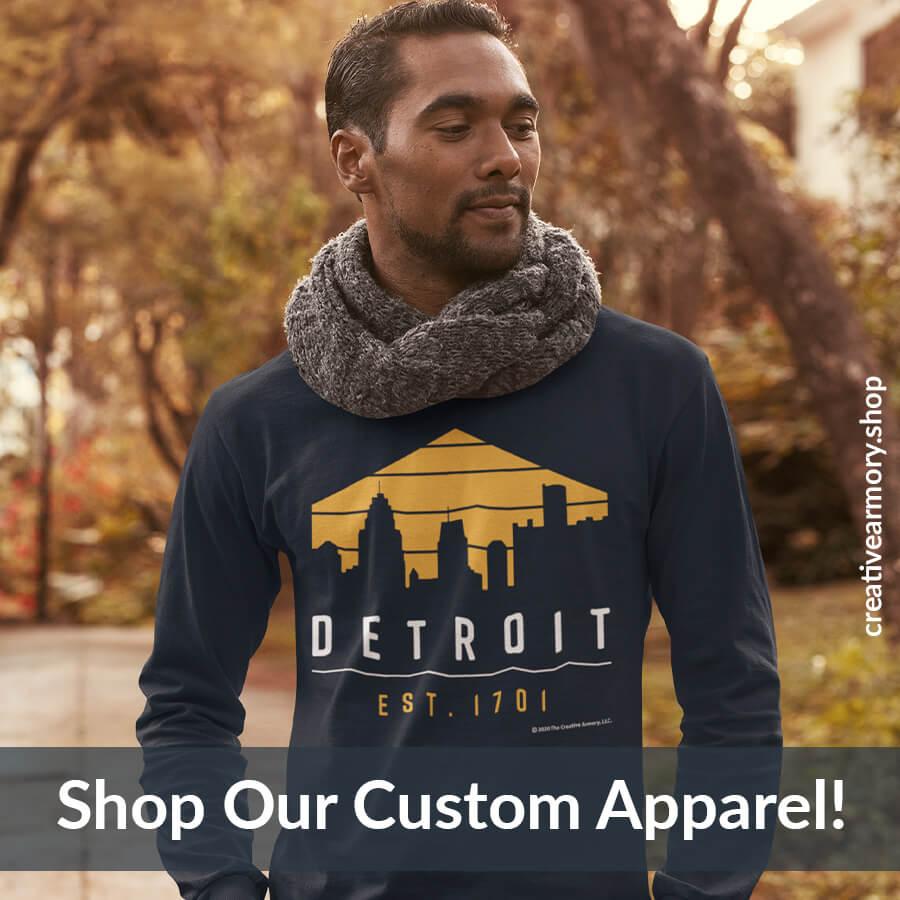 Shop Detroit 1701 Apparel