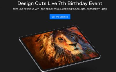 Design Cuts Celebrates 7th Birthday with Live Sessions and Awesome Product Discounts