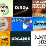 10 New Premium and Free Fonts for Designers – May 2021
